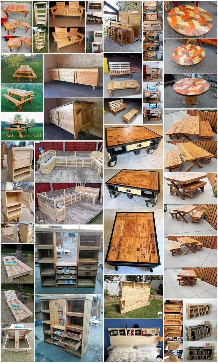 Marvelous Wood Pallets Reusing Ideas