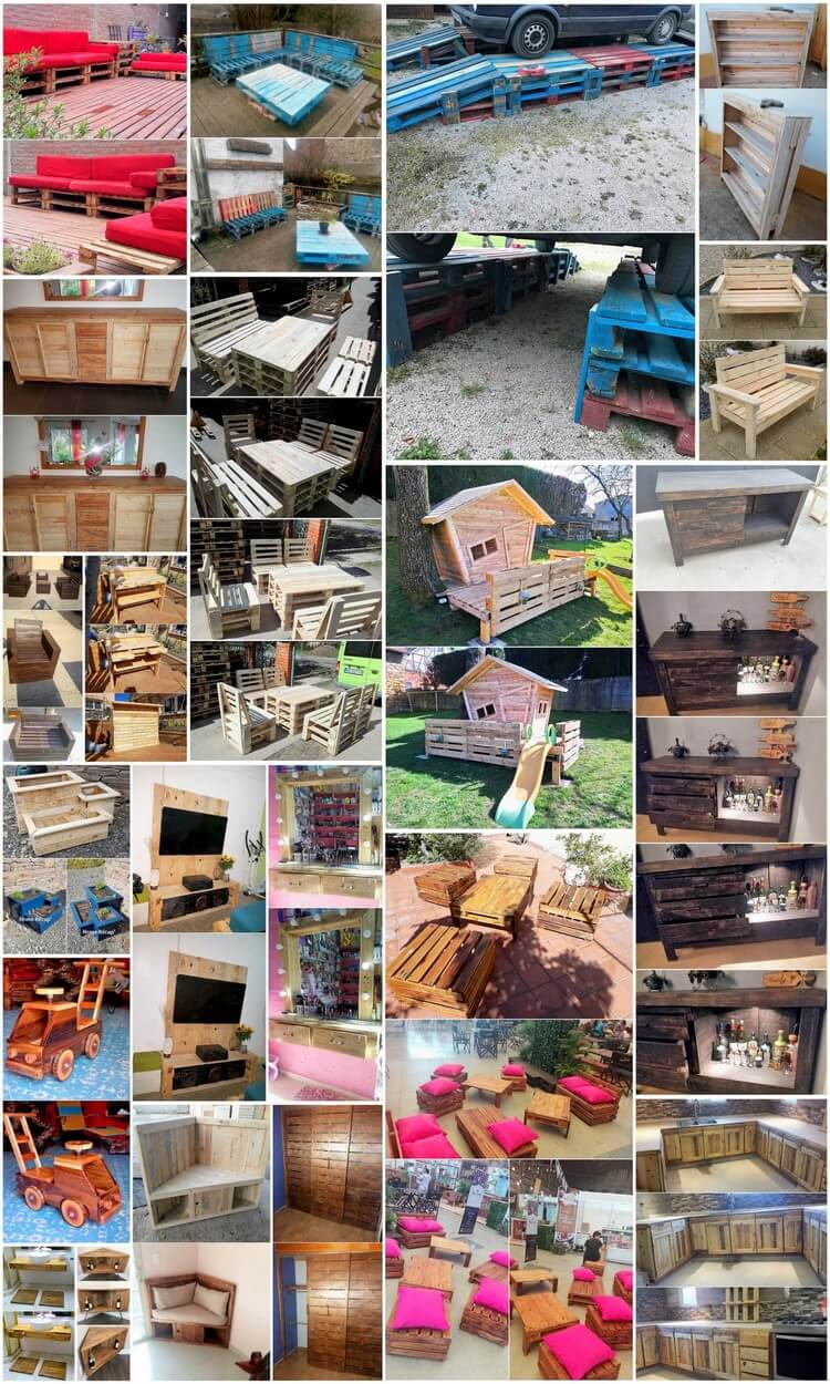 Outstanding and Fresh Wood Shipping Pallet Ideas