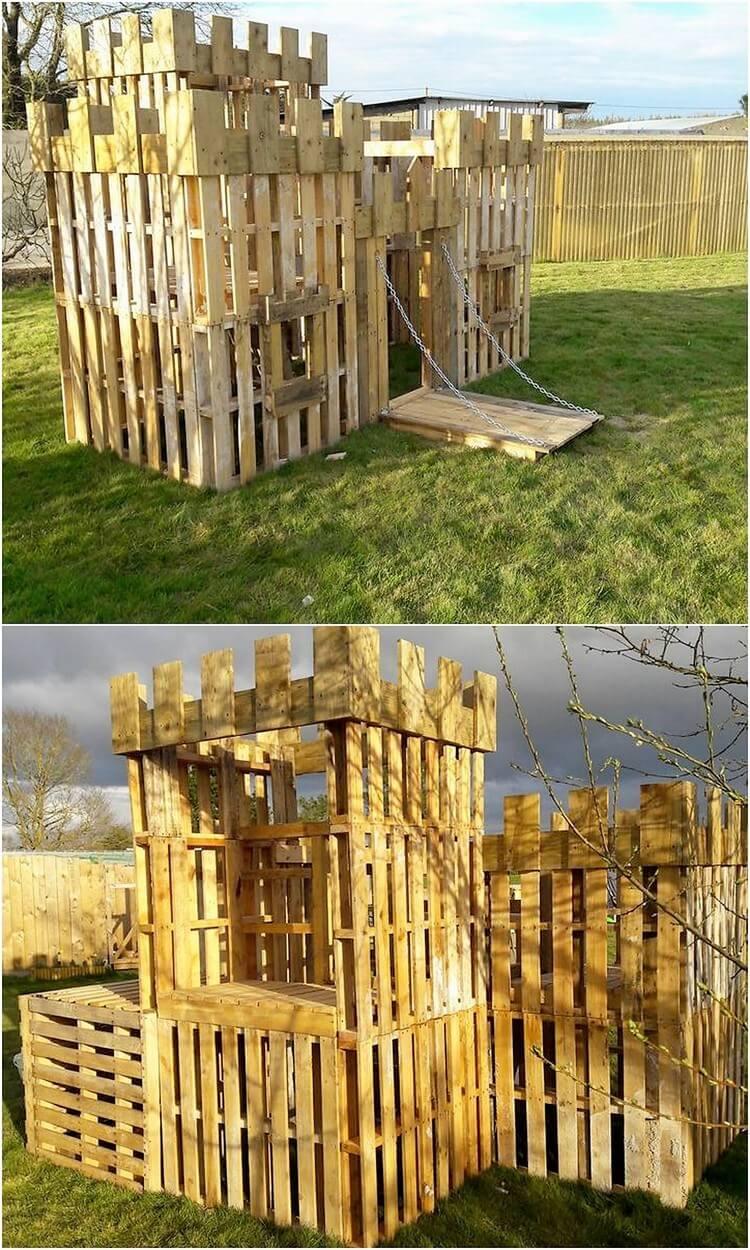 Pallet Castle