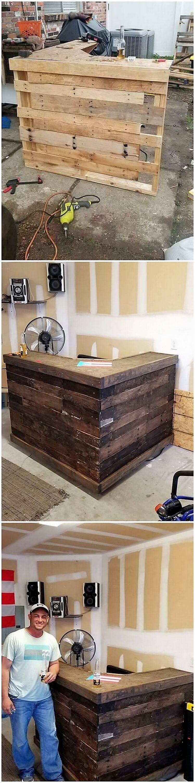 Pallet Counter Desk