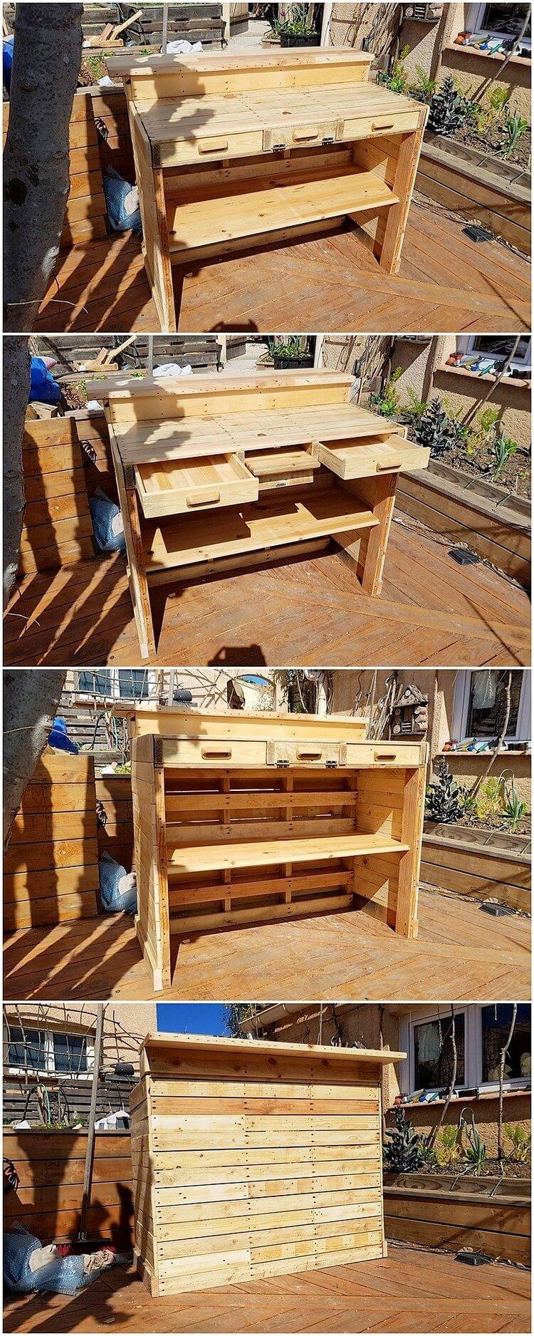 Pallet Desk or Table