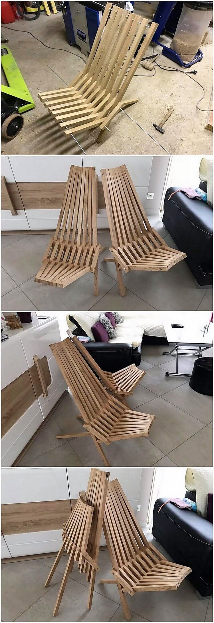 Pallet Folding Chairs