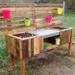 Pallet Garden Decor Creation