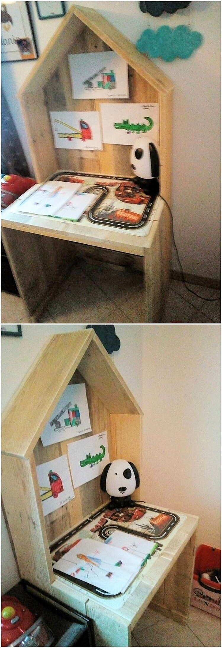 Pallet Kids Study Table