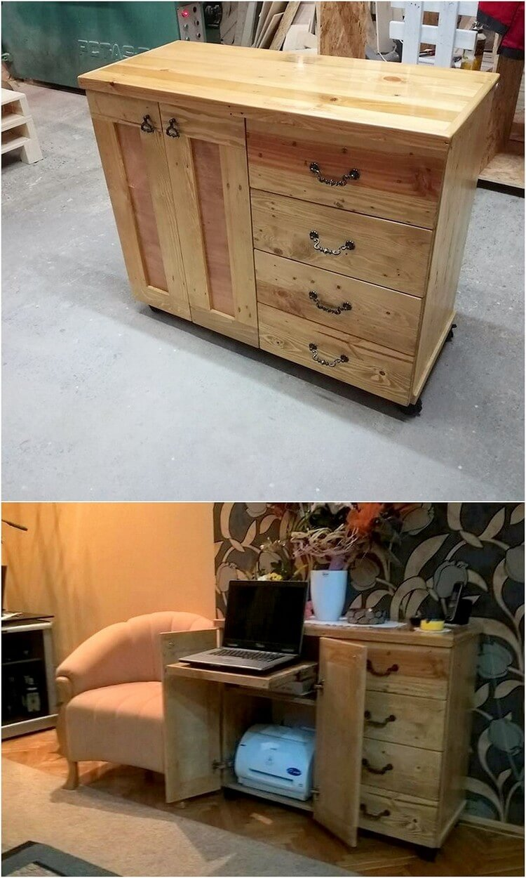 Pallet Study Table or Laptop Table