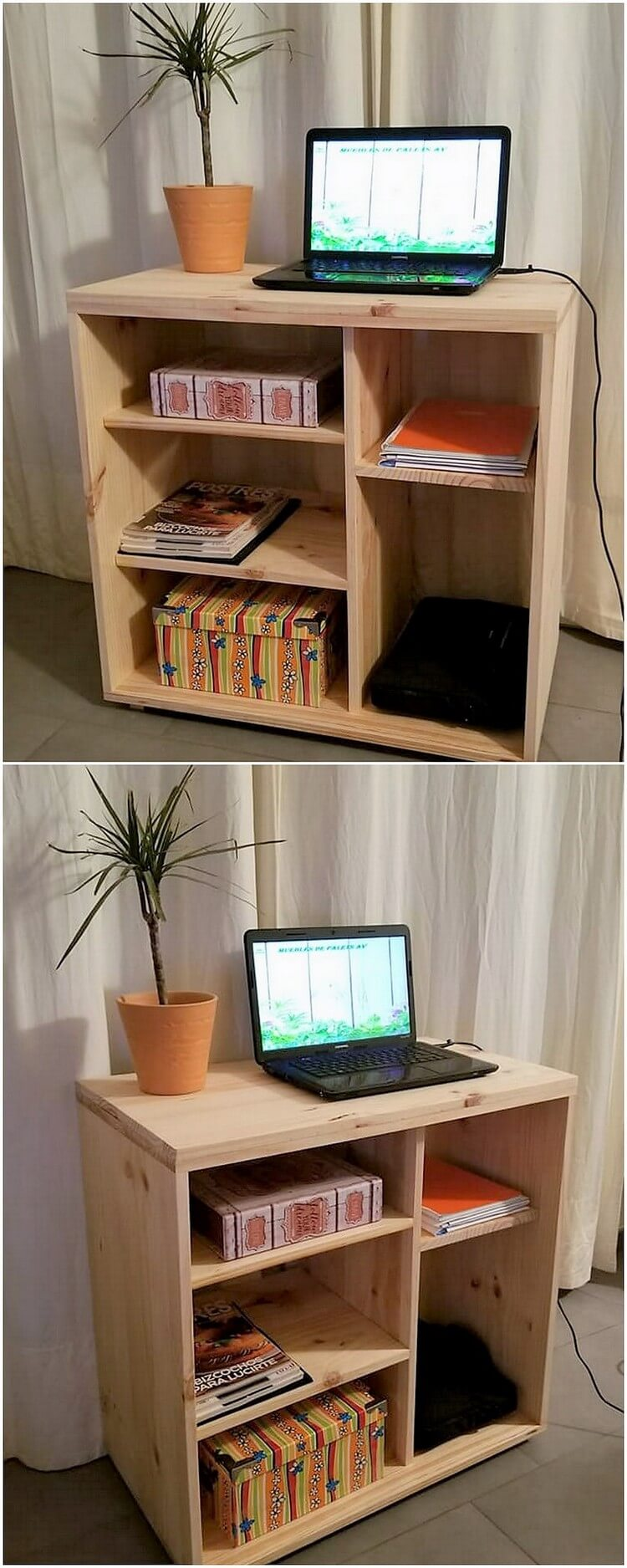 Pallet Study Table