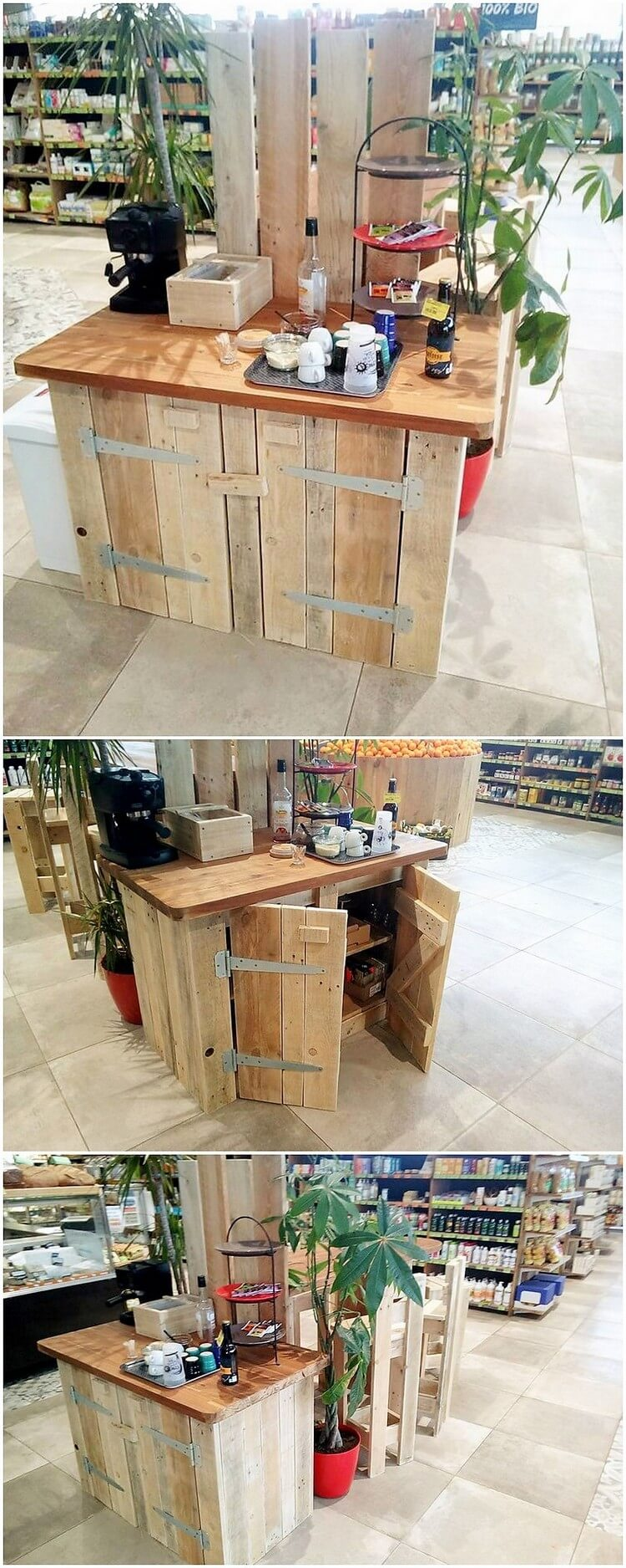 Pallet Table or Cabinet