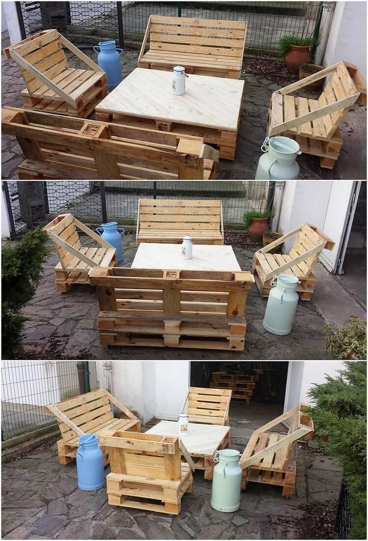 Pallte Outdoor Furniture Set