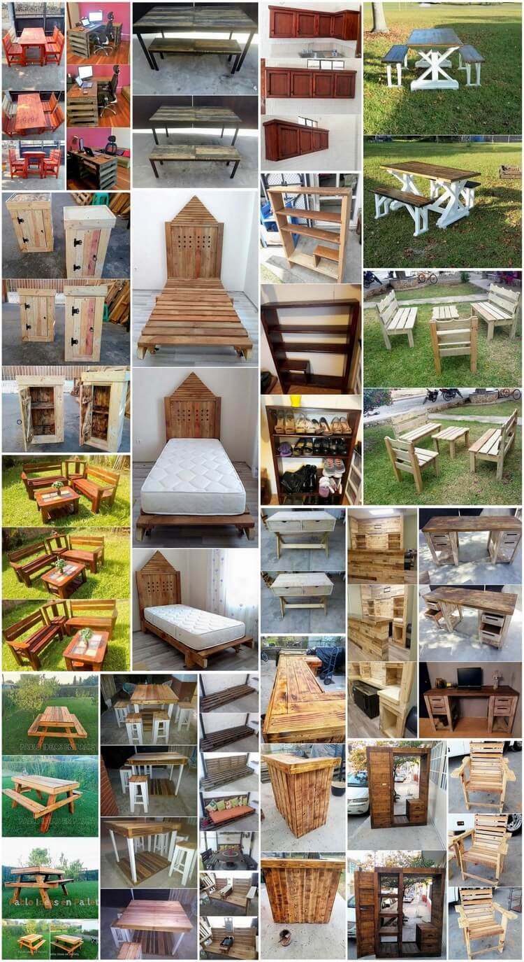 Pleasant and Amazing Wood Pallet Projects