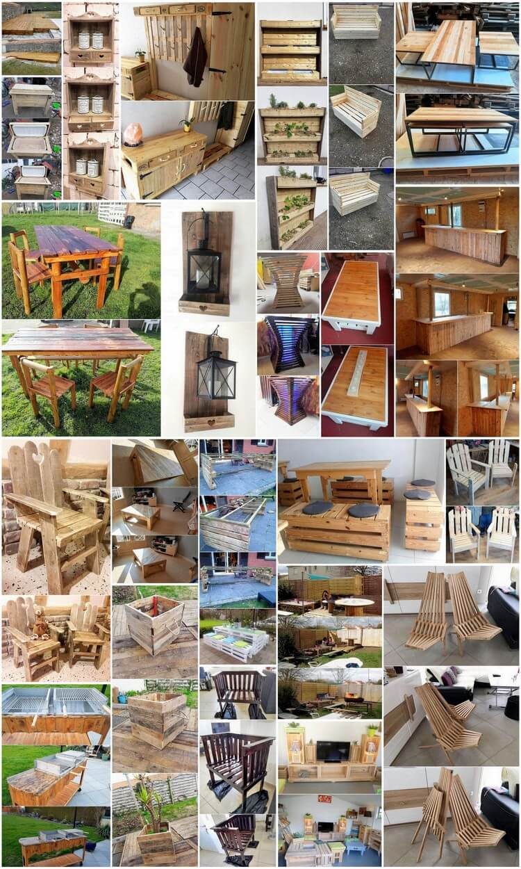 Remarkable Wood Pallets Recycling Ideas