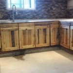 Wooden Pallets Kitchen Cabinets