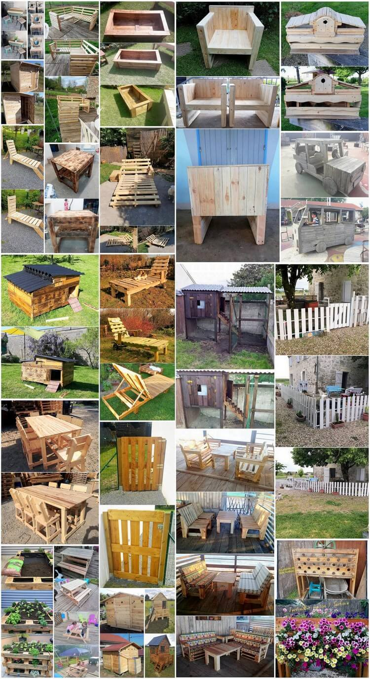 Amazing Ways to Upcycle Old Pallets