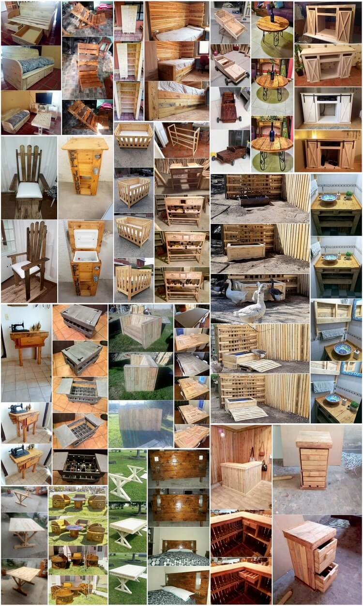 Easy to Build and Very Interesting Ideas of Wood Pallets