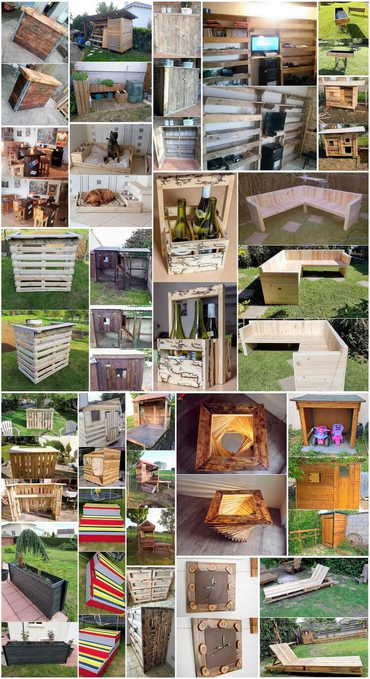 Fabulous things to do with old wood pallets pallet wood for Things to do with pallets