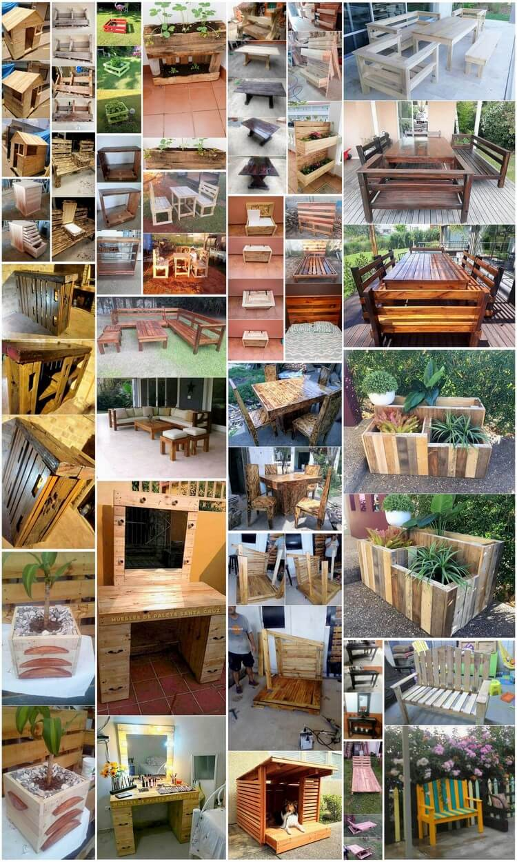 Fantastic Ways for Wood Pallets Recycling