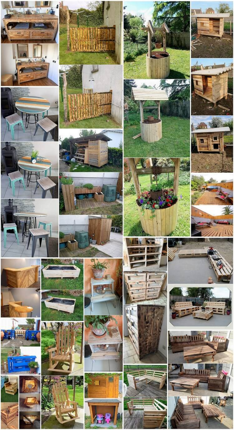 Give A New Look to Recycled Shipping Pallets