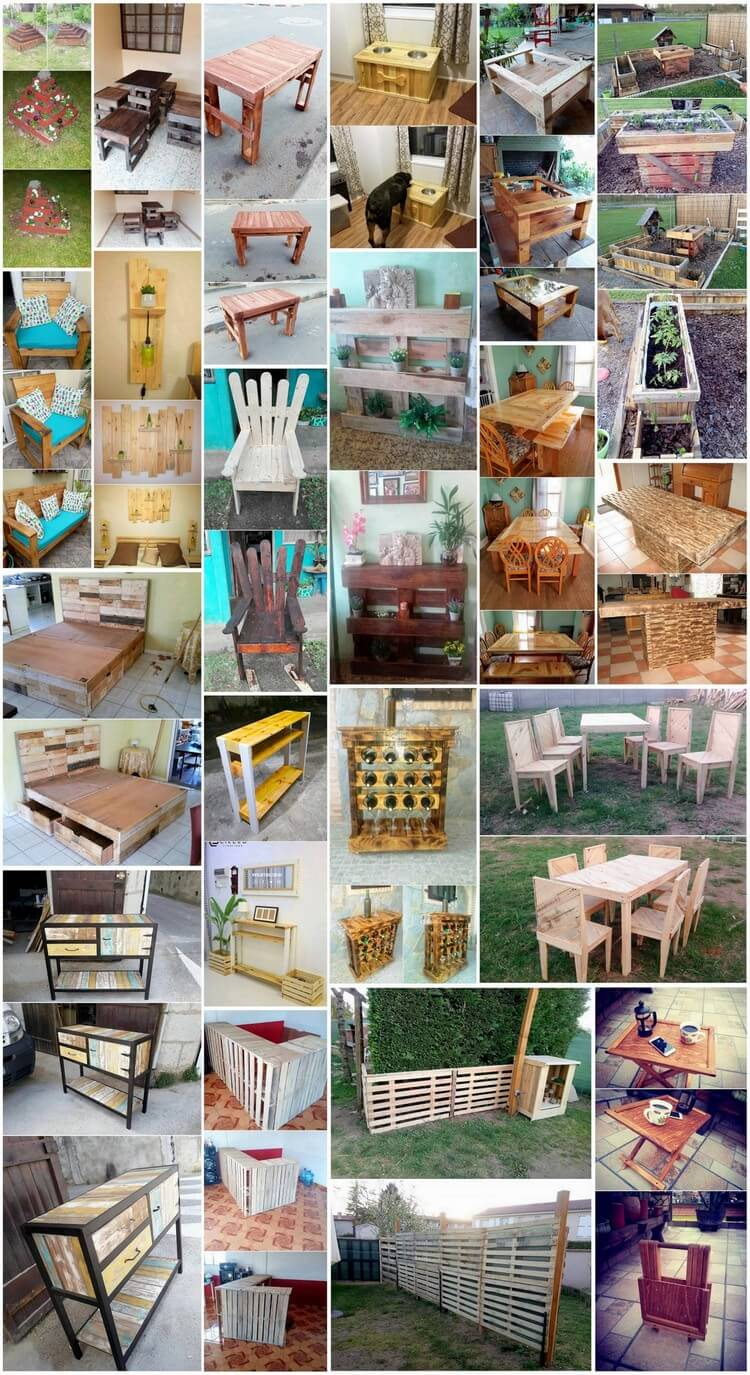 Glorious Wood Shipping Pallets Recycling Ideas