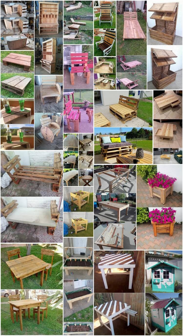 Inspirational DIY Ideas for Old Wood Pallets