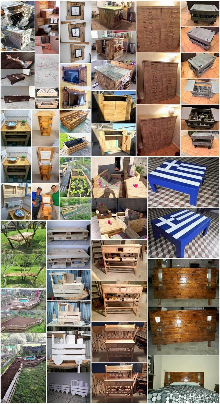 Intellectual Recycled Wood Pallets Crafting Ideas