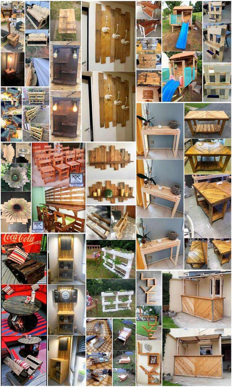 Make Some Amazing Things with Old Wood Pallets