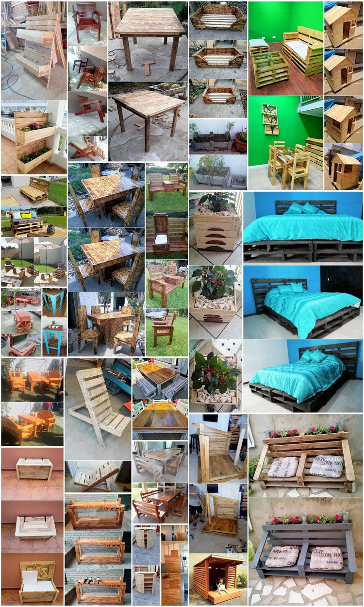 Marvelous Wood Pallets Recycling Ideas for Indoor and Outdoor