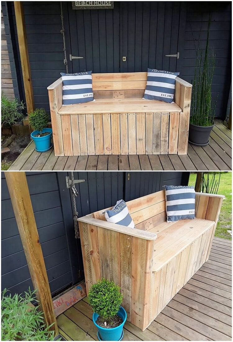 Pallet Garden Couch or Bench