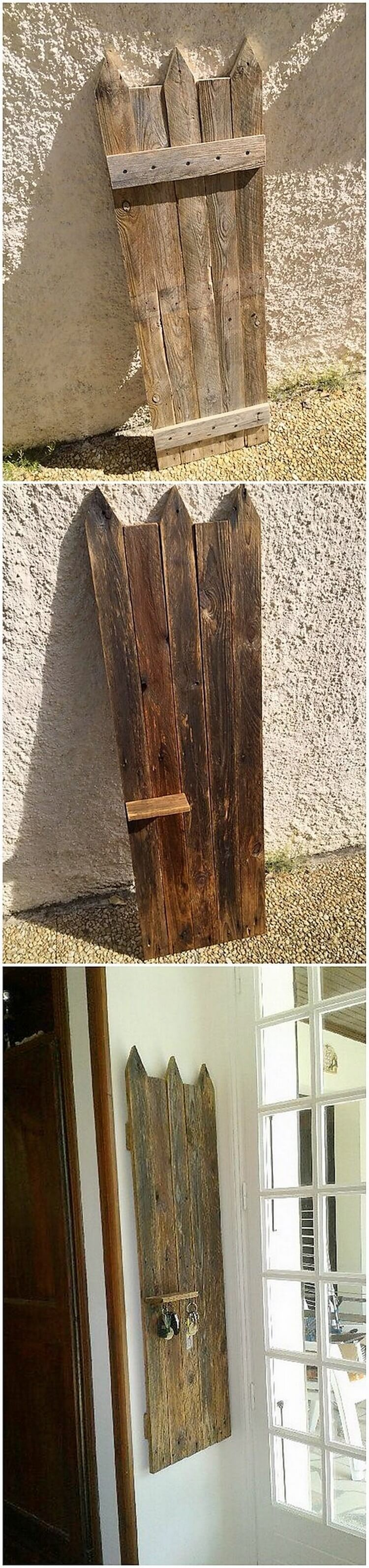 Pallet Key Rack Shelf