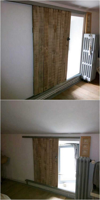 Pallet Sliding Doors