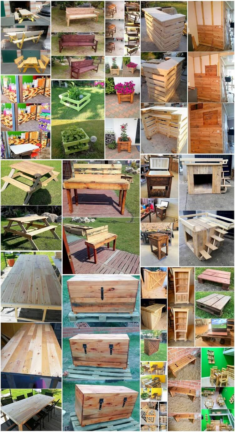 Reshaping Ideas of Old Wood Pallets