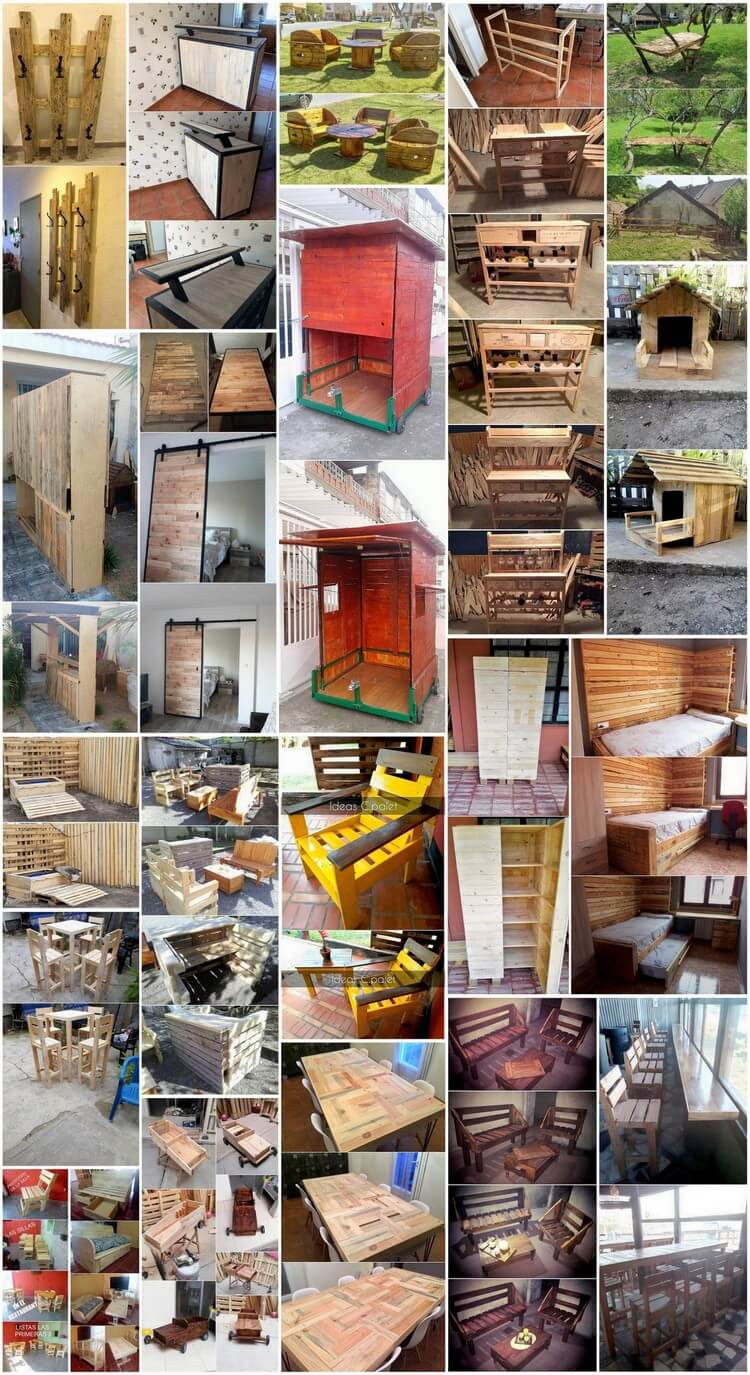 Some Nice Ideas to Utilize Recycled Wood Pallets