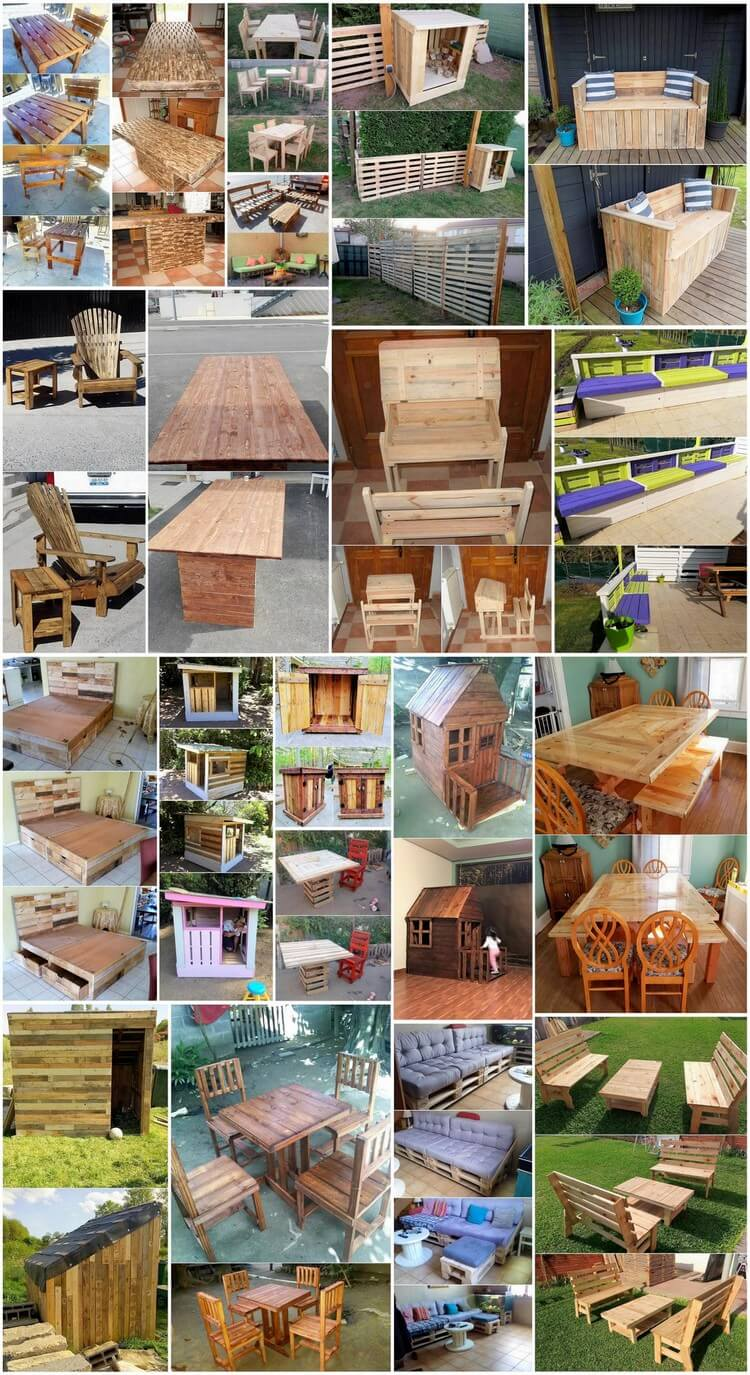 Stylish and Beautiful DIY Wood Pallet Projects