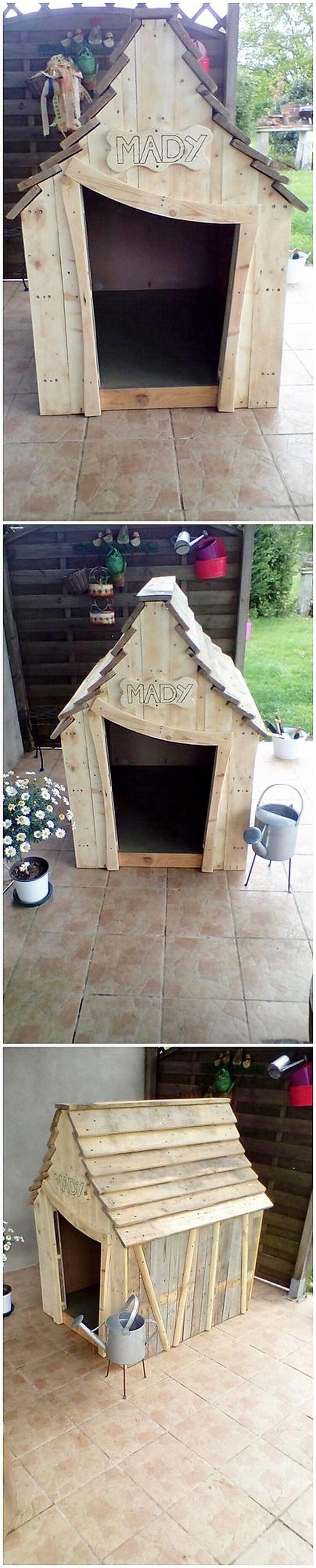 Wood Pallet Pet House