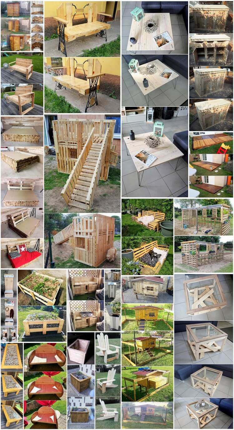 Heart Touching Wood Pallet Recycling Ideas