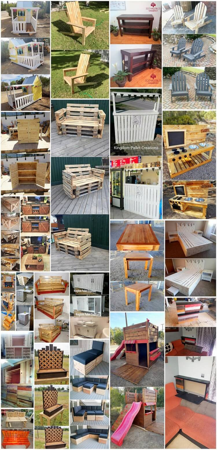 Incredible Ideas to Recycle and Rebuild Old Wood Pallets