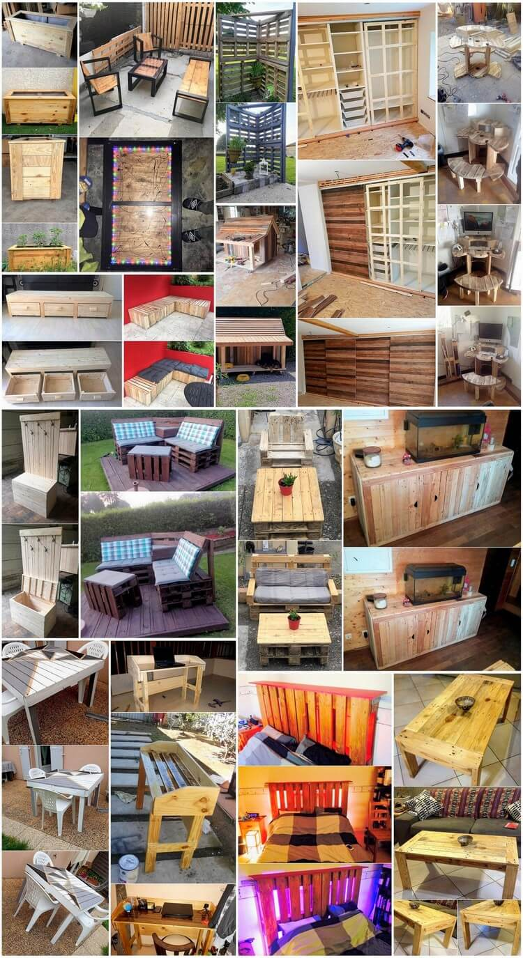 Innovative Projects Made with Recycled Wood Pallets