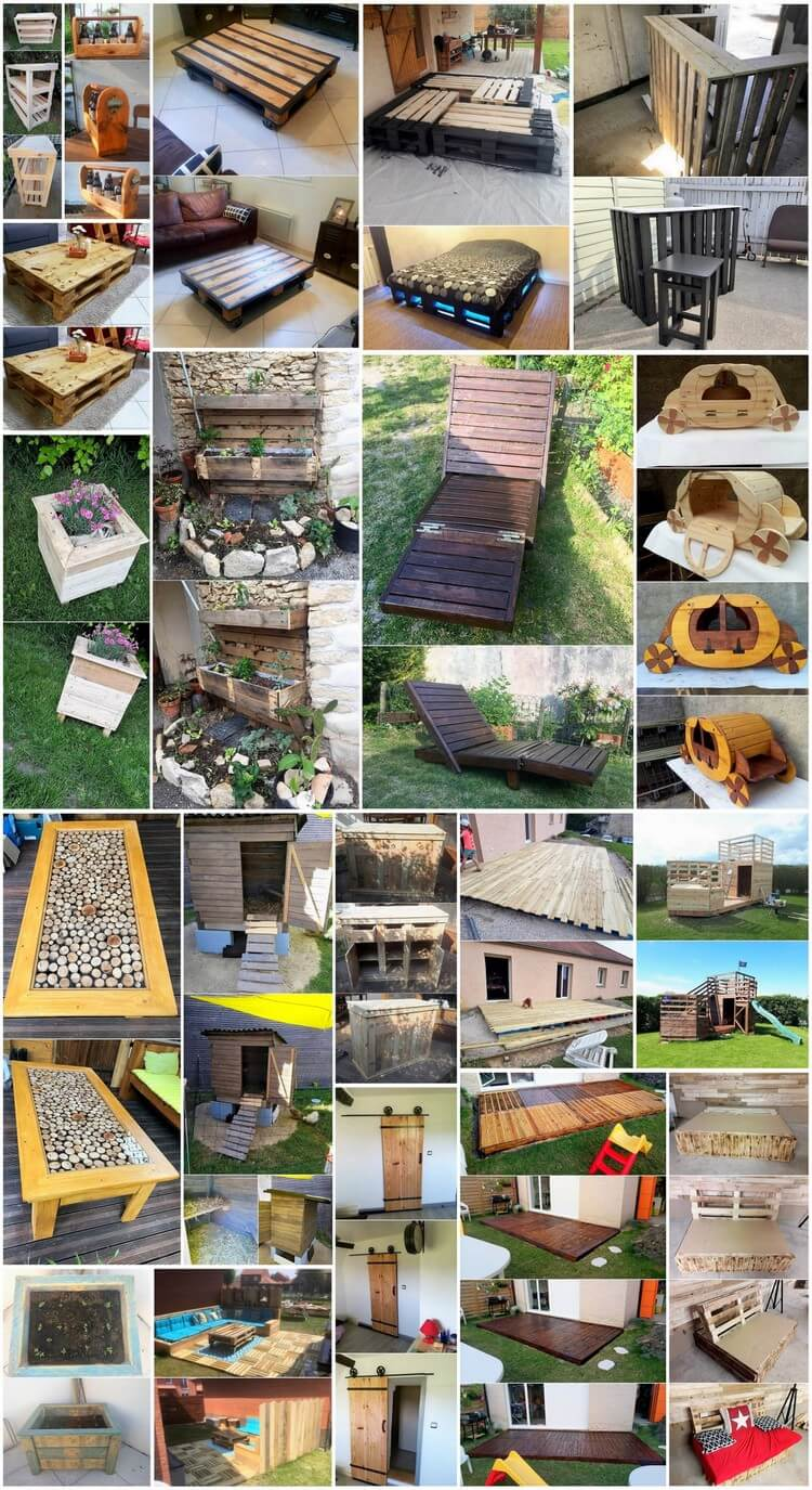 Magical Wood Shipping Pallet Ideas and Projects