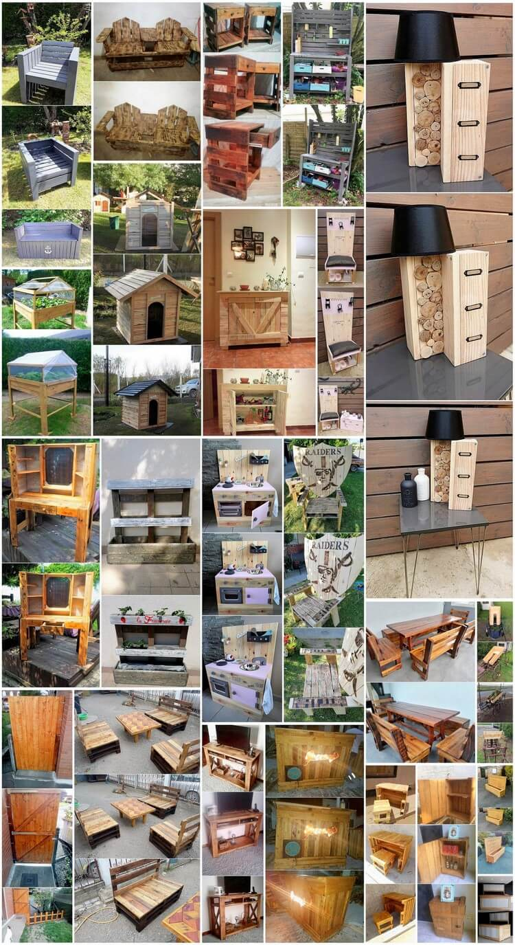 Most Famous Wood Pallets Recycling Ideas