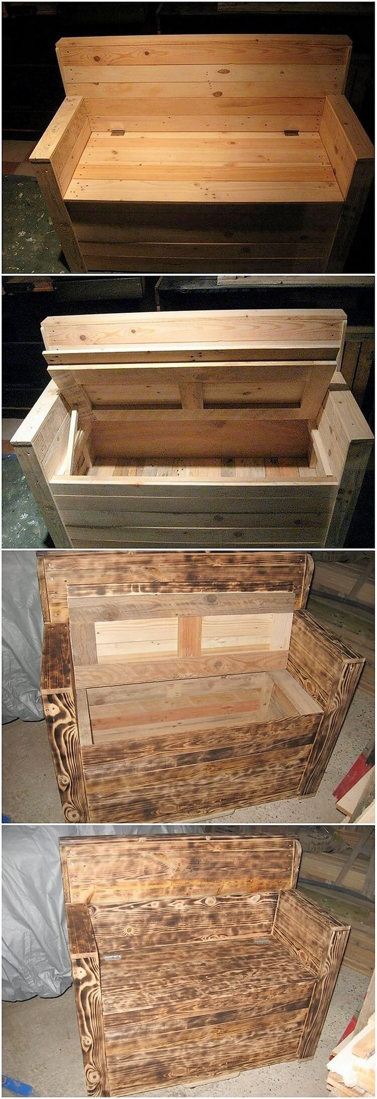 Picture of: Diy Charming Wood Pallet Ideas For Your Home Beauty Pallet Wood Projects