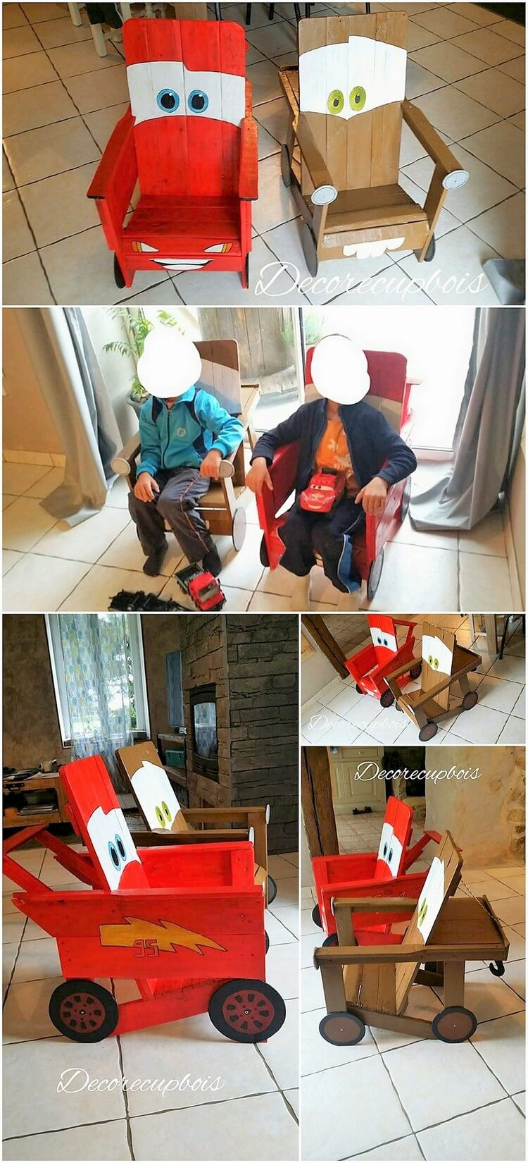 Pallet Chairs for Kids