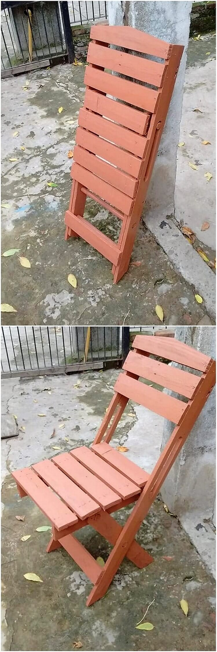 Pallet Folding Chair