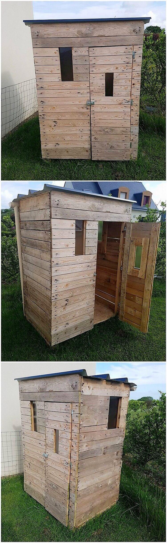 Pallet Garden Cabin or Shed