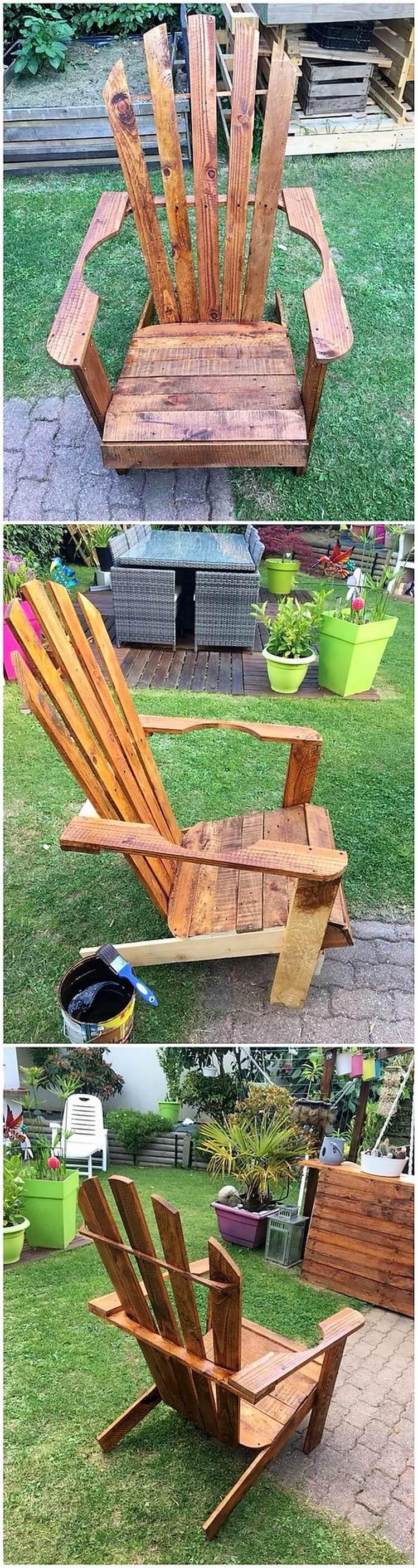 Pallet Garden Chair