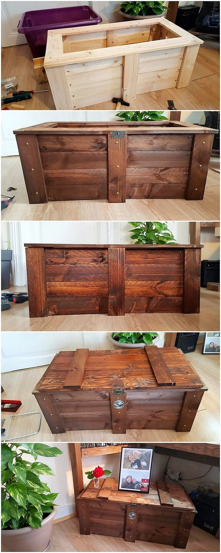 Pallet Hope Chest or Storage Box