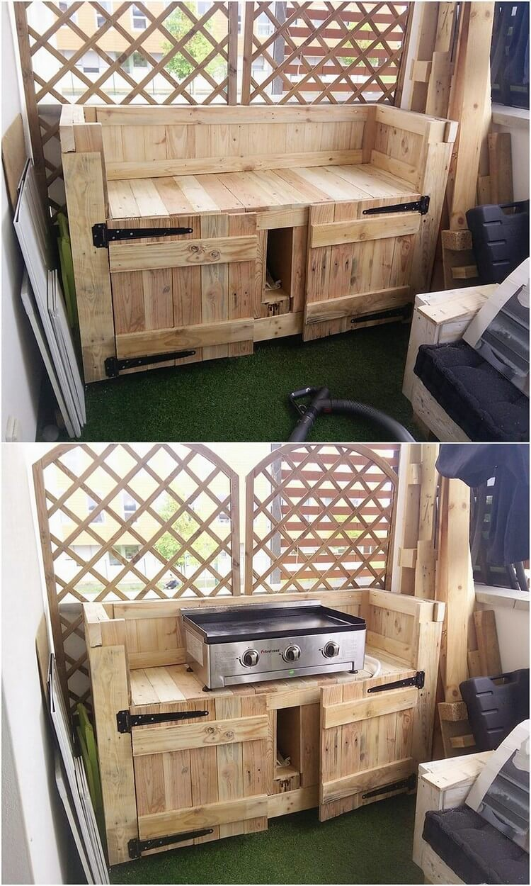 Pallet Outoor Kitchen