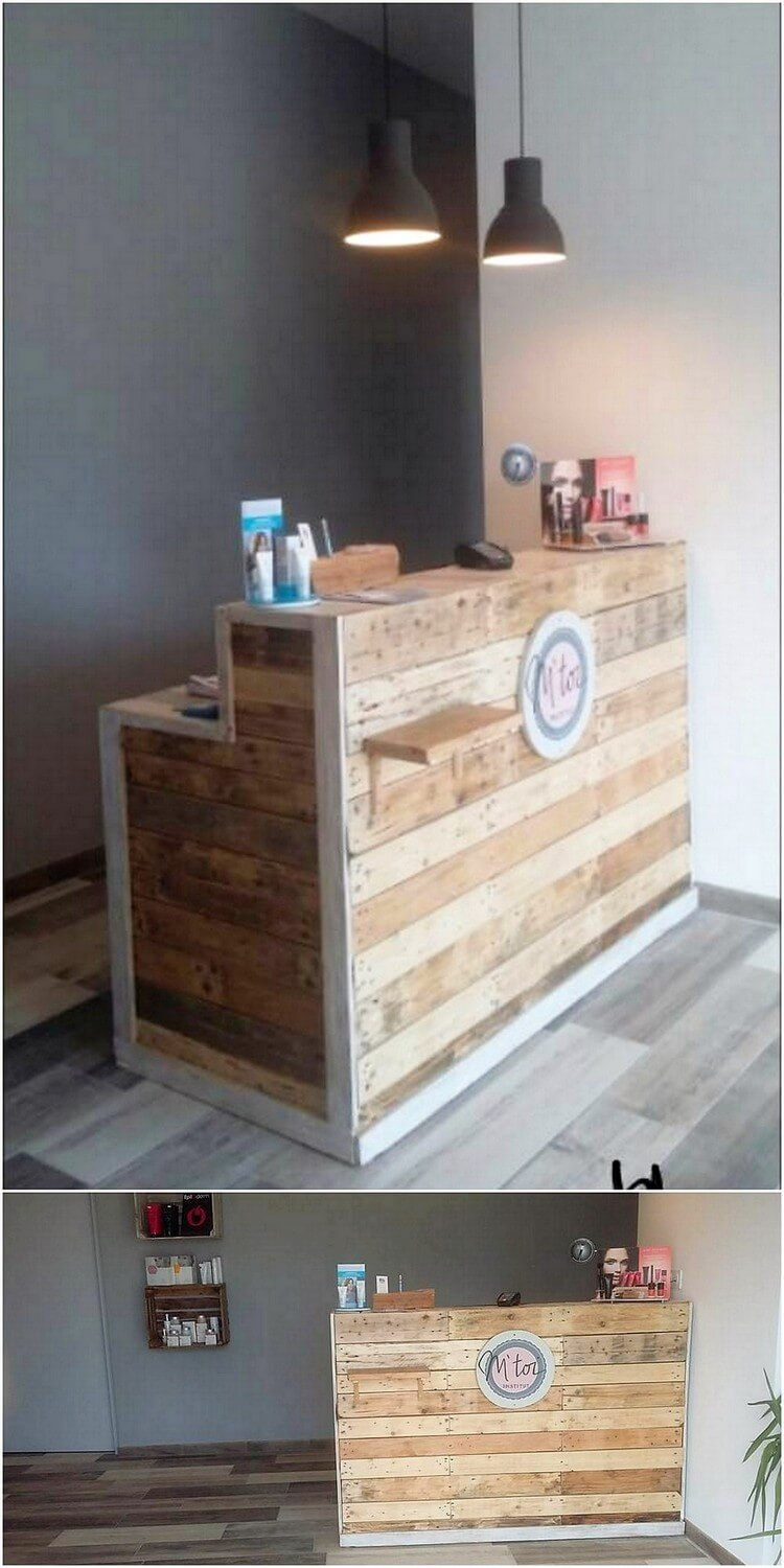 Pallet Reception Counter