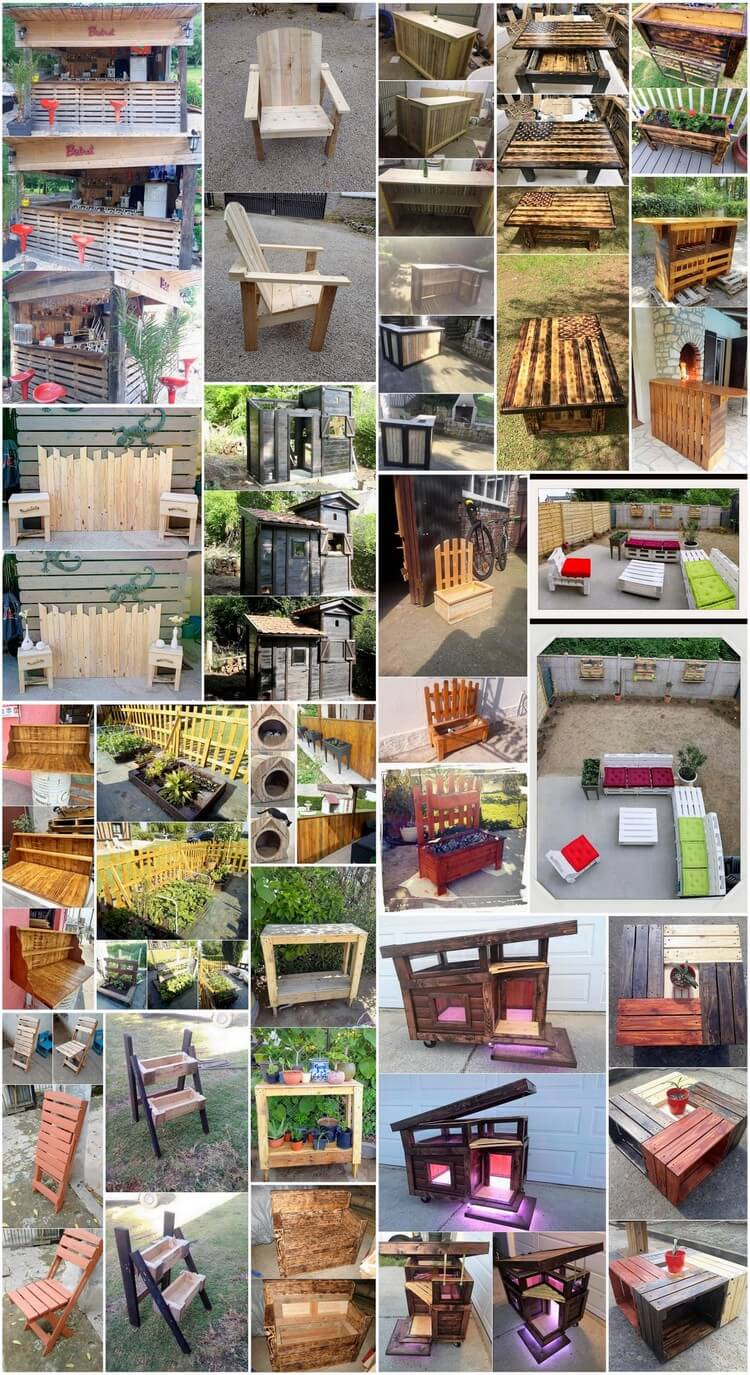 Some Nice Ideas with Recycled Wood Pallets 2018