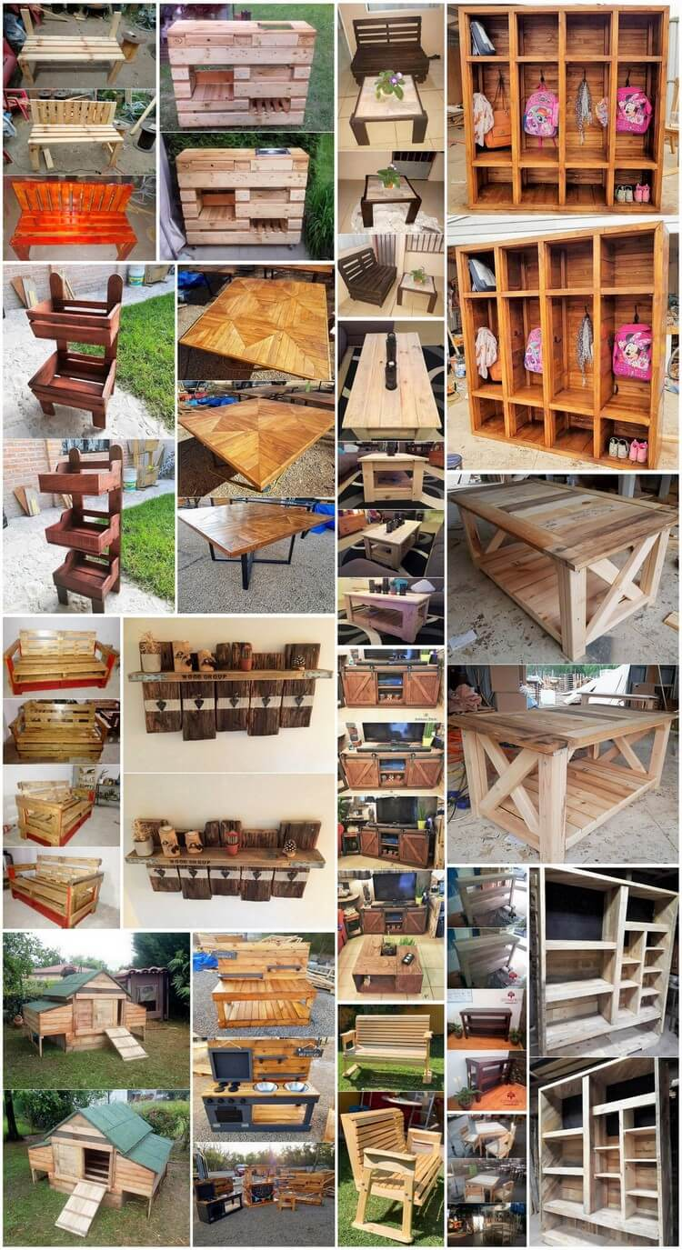 Splendid Wood Pallet Ideas That Show Us The Fun of Recycling
