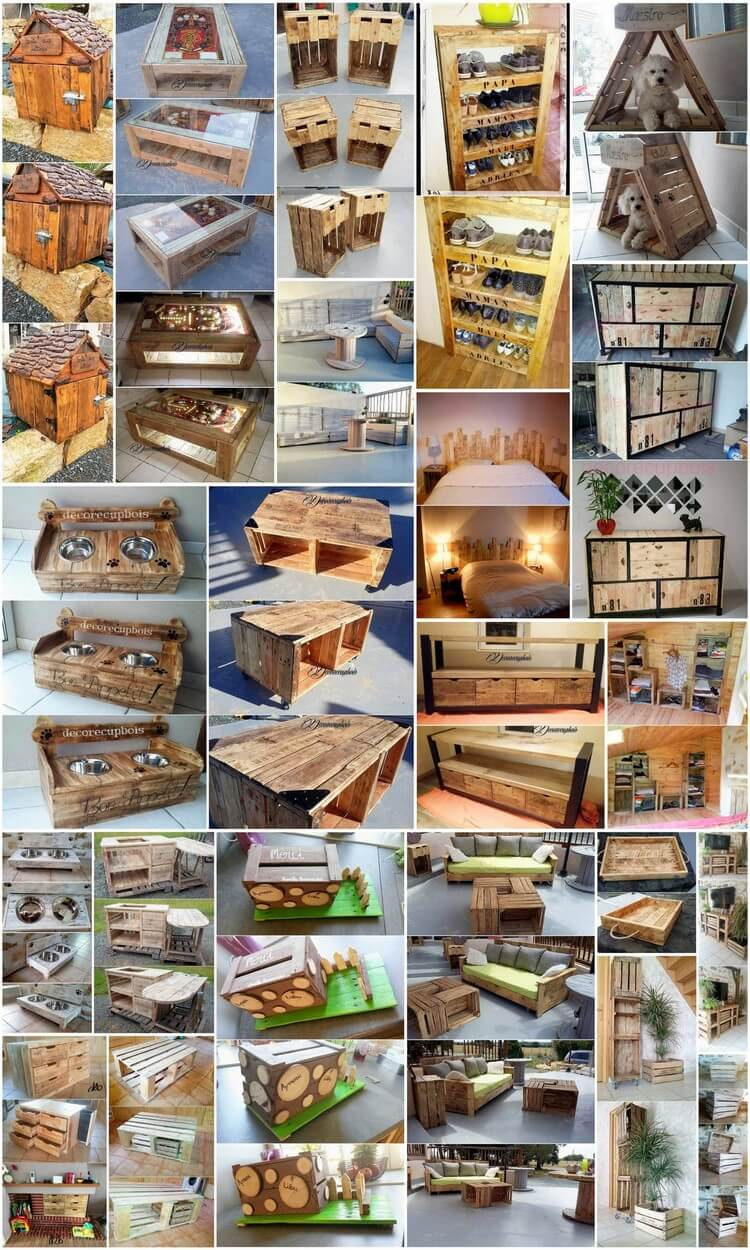 Unique Diy Projects With Recycled Wood Pallets Pallet Wood