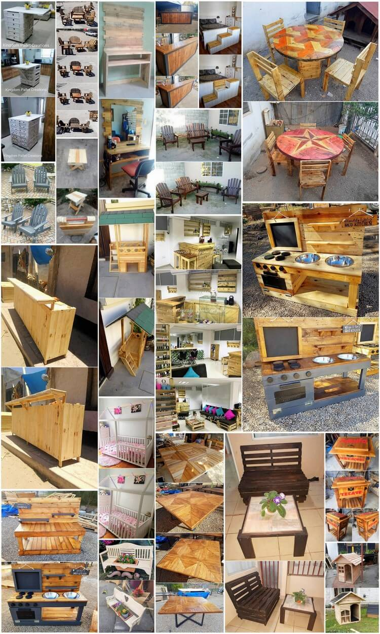 Unique Wood Pallet Recycling and Reusing Projects