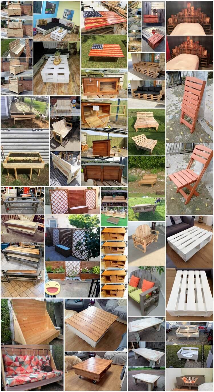 What Can You Make with Wood Pallets Easy Projects